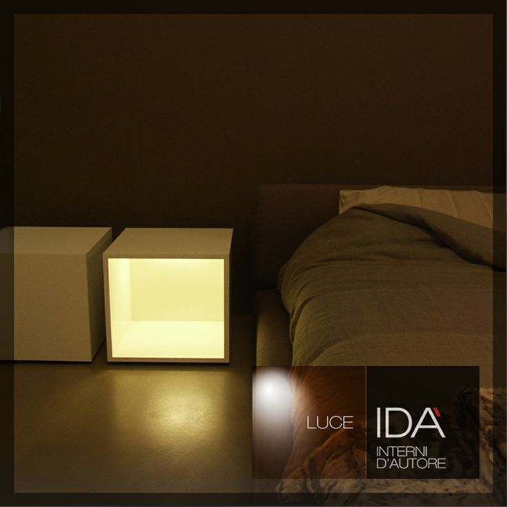 Comodino Lampada Sleep Less designer Davide Groppi /IDA' Design Salerno