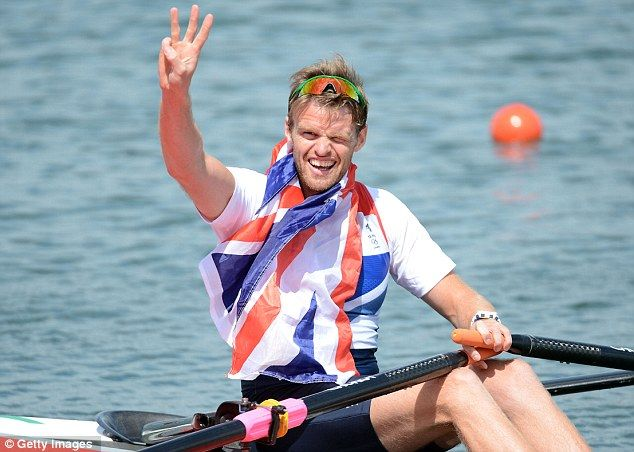 Alan Campbell won bronze in the men's single sculls final to cap a brilliant day for British rowing at Eton Dorney