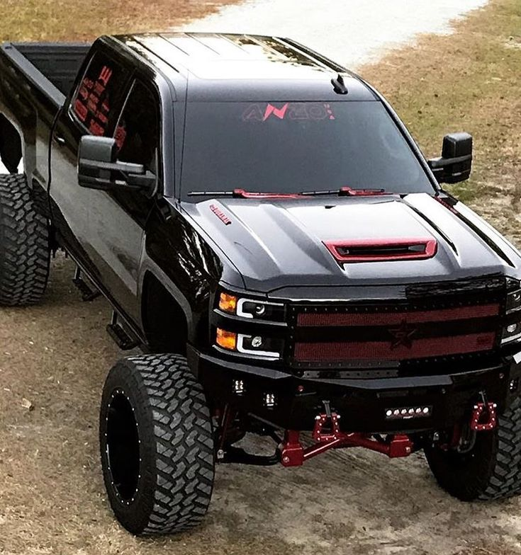 Badass Lifted Chevy Silverado 2500hd