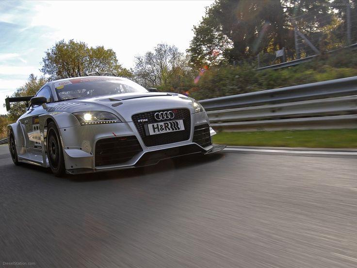 Audi TT RS 2012 - Racing Car Version Exotic Car Wallpapers #08 of 18 : Diesel Station