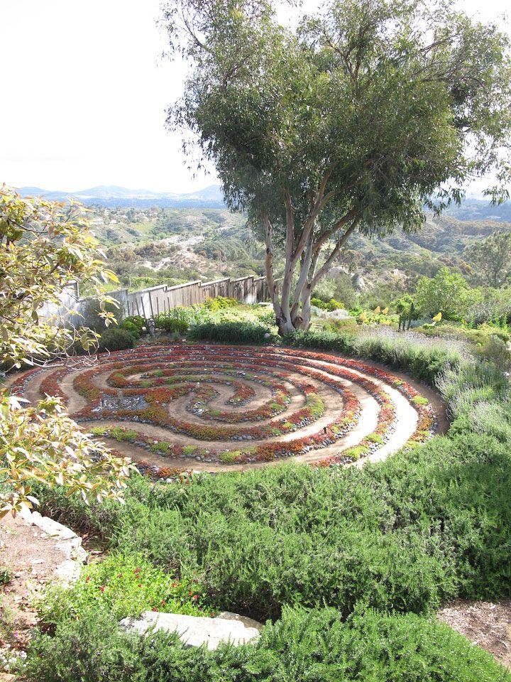 338 best Labyrinth Gardens images on Pinterest Mandalas
