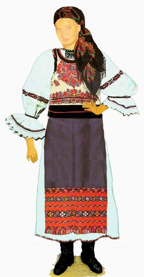 Romania Folk costumes -