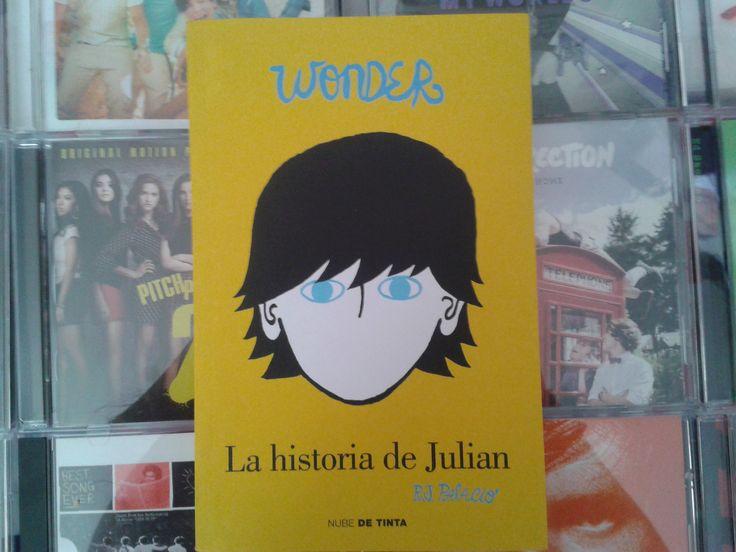 """""""Wonder: La historia de Julian"""" escrito por R.J. Palacio:"""