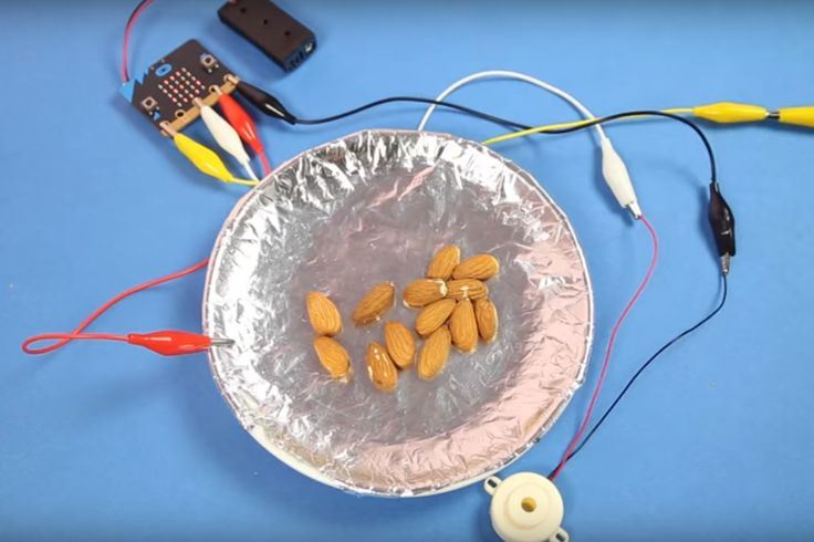 Use a conductive fingertip smartphone glove, a bit of swift stitching and the scoreboard code for the BBC micro:bit to make an entertaining dexterity game.
