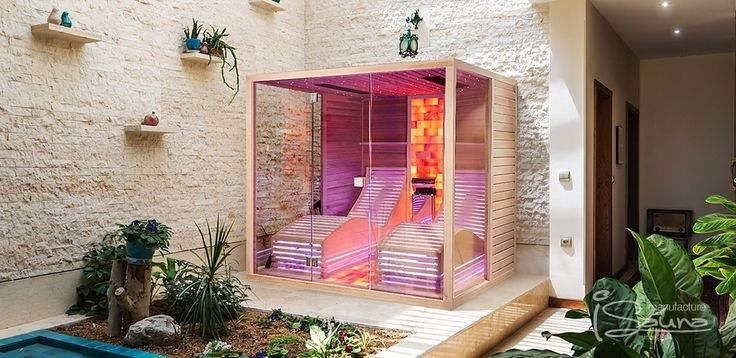 Easy Comfort - Bio sauna with Harvia steam generator and Himalayan salt therapy