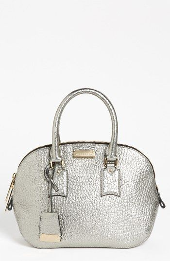 Burberry 'Orchard - Small' Leather Satchel available at #Nordstrom