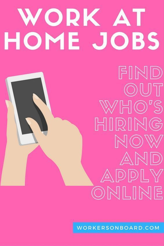 Several Brand New work at home Jobs