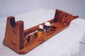 Woodworking Projects That Sell gun rest   Rifle Vise Project