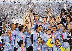 Uruguay - Copa America 2011 CAMPEONES - pure joy and happiness