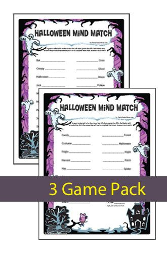 halloween mind match a finish my phrase halloween word game for kids and adults - Halloween Word Game