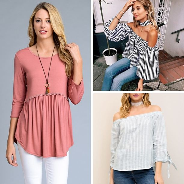 """Cute spring styles IN STORE! So much more than we can begin to show online! Stop in Statesville today! ~Tues Specials~  Spring is HERE! We have a """"new look"""" in Statesville Come see us! * Clothing ~ 25% off  * Clothing Name Brands 20% off * $40 off Tux's in March  *DON'T FORGET PROM IS AROUND THE CORNER! Open 10-6 in March and till 7 Starting in April"""