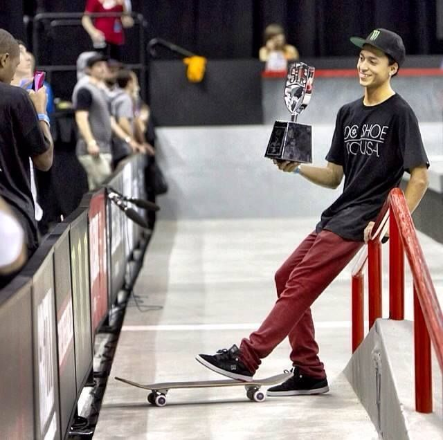 Nyjah Huston wins the Street League Super Crown Championships in Newark and sweeps the 2014 SLS series as well! Catch the recap videos and details on the Street League website - http://streetleague.com/