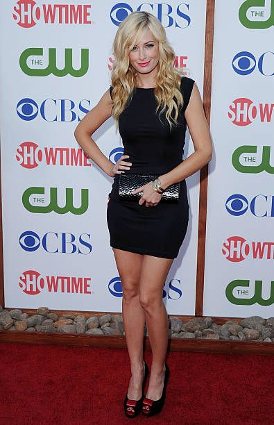 Actress Beth Behrs arrives at the 2011 TCA Summer Press Tour CBS The CW Showtime at The Pagoda on August 3 2011 in Beverly Hills California