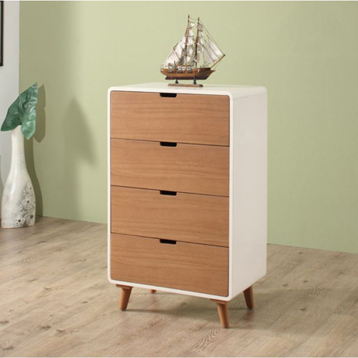 Euro 4-drawers cabinet