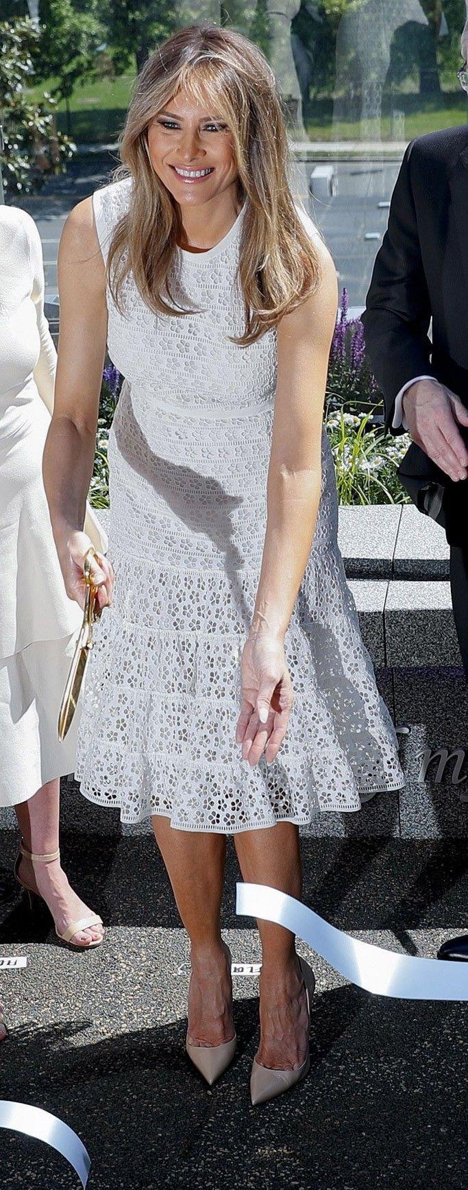 Beautiful First Lady Melania