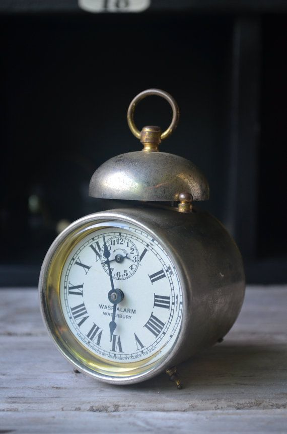 Antique Miniature Alarm Clock | O clock, Miniature and ...