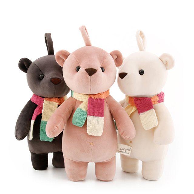 35 см Kawaii Teddy bear мягкие плюшевые игрушки для детей для детей новорожденных девочек мягкие куклы подарки