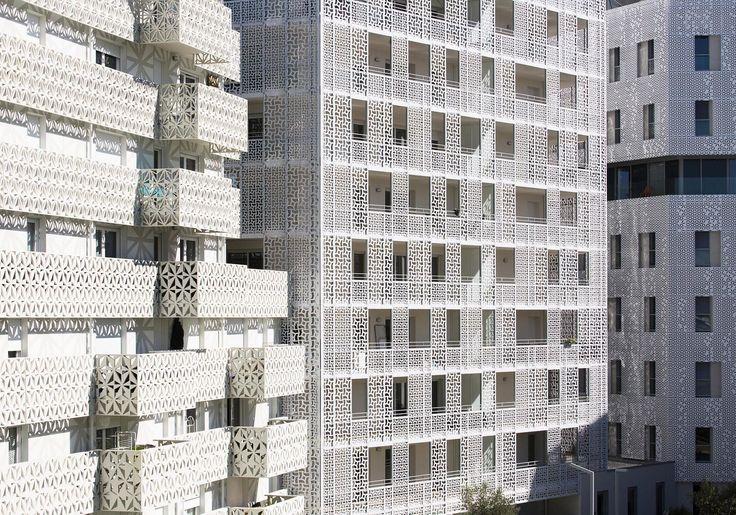 Total ornamental - Siedlung in Montpellier von Jacques Ferrier