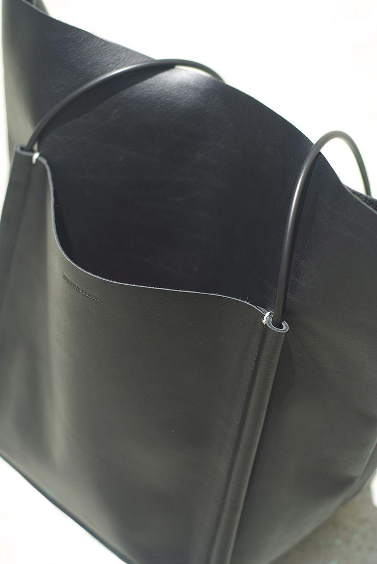 Minimal + Classic: large black tote