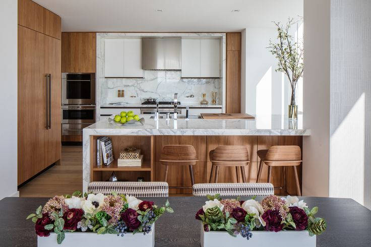 Inside the model apartments of One West End, Riverside Center's first condo - Curbed NYclockmenumore-arrow : The 42-story Pelli Clarke Pelli-designed building features 246 condos