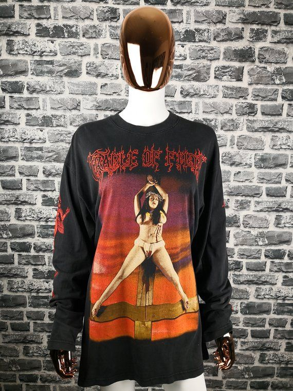 90s Satan Long Filth T Vtg Of Me Shirt Sleeve Cradle Desire Like 3cKTlF1J