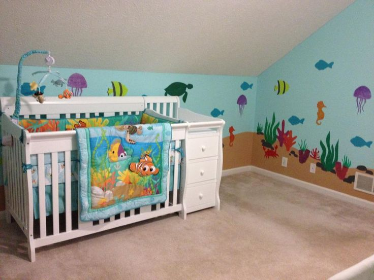 New Disney Finding Nemo 8 Piece Crib Bedding Set Limited: 1000+ Images About My Nursery On Pinterest
