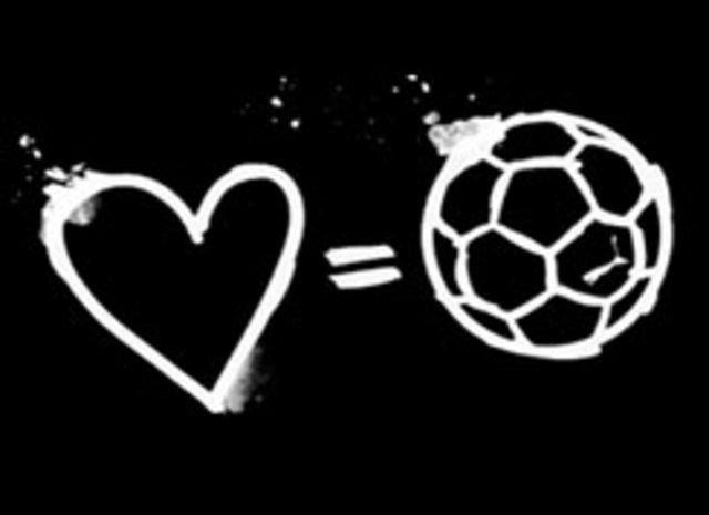 Amo el fútbol.