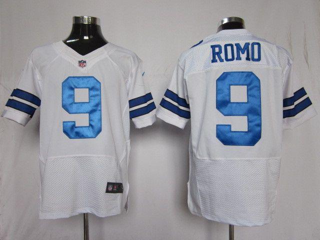 19bc6f09384 ... 2014 Hot Sale Cheap Dallas Cowboys 9 Tony Romo White Nike Elite Jersey  Wholesale Instock Dallas Cowboys 9 Tony Romo Anthracite Salute to Service  ...