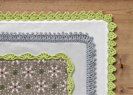 Simply Crochet edgings