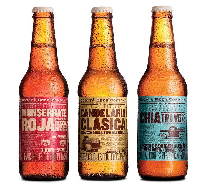 Креативная упаковка для пива: Bogota Beer