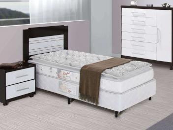 Colchão Solteiro Castor Mola 88x188cm - Sleep Basic Confort