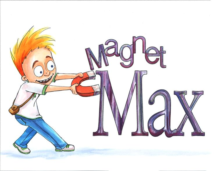 Magnet Max by Monica Hughes. Join Max and Nick as they explore the science behind the magic. Discover which objects are attracted and why some are while others aren't. In Magnet Max, Monica Hughes uses her experience as an educator to explain scientific concepts in clear, easy-to-follow language. Catchy rhymes and the colorful illustrations of Holly Weinstein add to the fun. Watch your children's curiosity come to life as they explore the wonders of magnetism with Magnet Max!