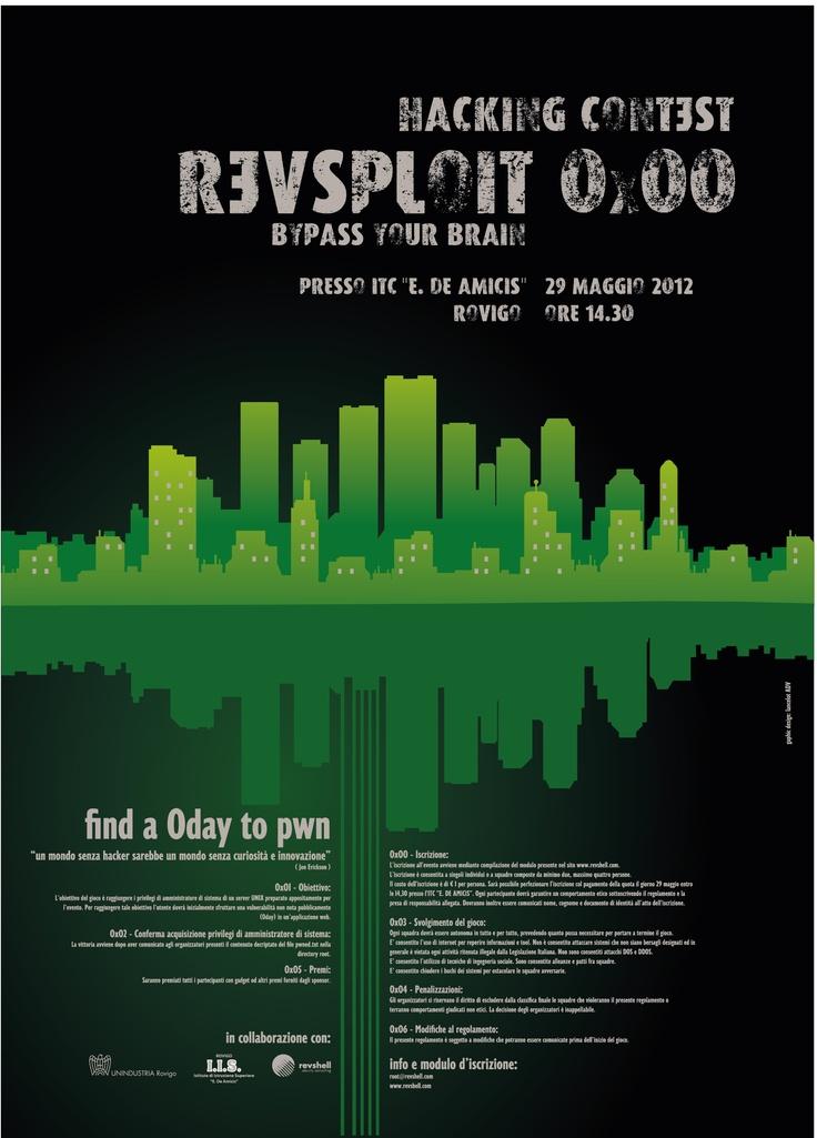 Hacker contest poster - revsploit