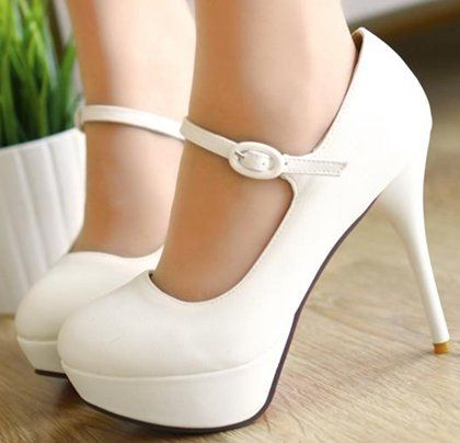 Free shipping 2013 news high heel shoes heels women dress footwear fashion sexy flock pumps P2939 hot sale size 34 - 43 http://zzkko.com/n297121 $68.01 BRL