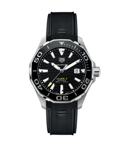 Aquaracer Calibre 5 Automatic Watch 300 M - 43 mm WAY201A.FT6069 TAG Heuer watch price