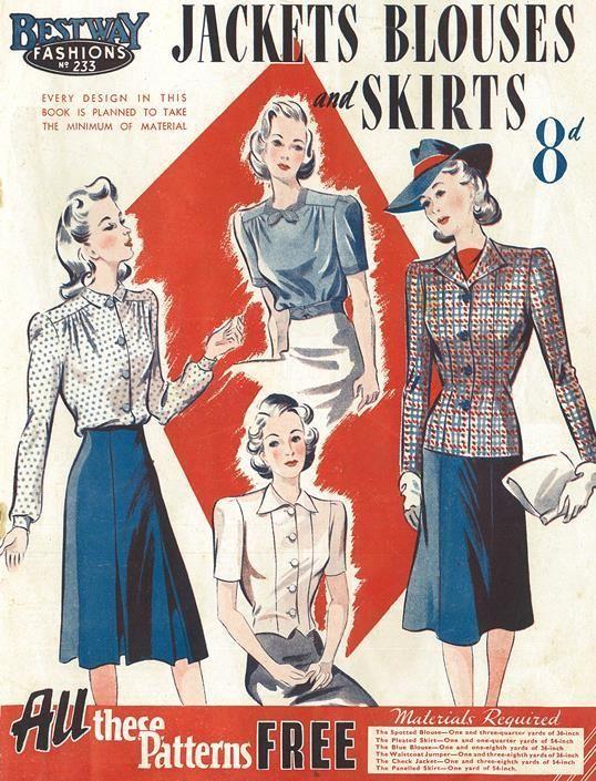 Bestway Fashions, 1941