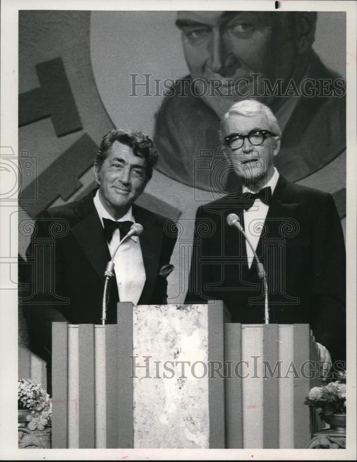 1978 Press Photo Dean Martin, James Stewart Dean Martin Celebrity Roast