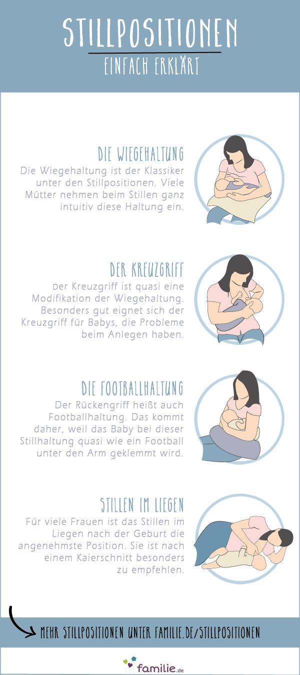 Großer oder kleiner Busen – hier findest du die perfekte Stillposition für dich und dein Baby