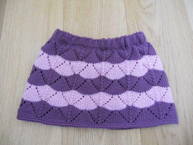 Ravelry: Violinka's lacy short skirt
