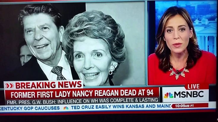 Nancy Reagan has died at the age of 94, the first woman in united state who passed away at the age of 94 The widow of late former President Ronald Reagan and a standout amongst the most compelling first women in United States history passed away Sunday at her home in Los Angeles in the