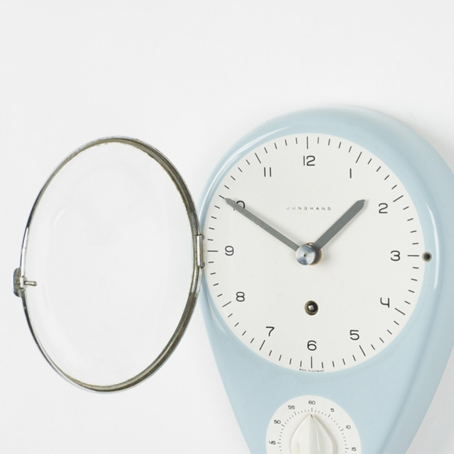 Max Bill Kitchen Clock
