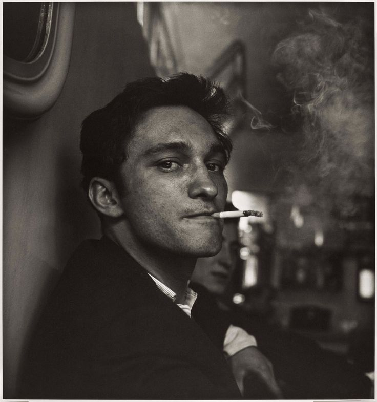At a café in Finsbury Park, London  1958 by Don McCullin