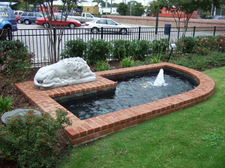 73 best garden images on pinterest backyard ponds for Water garden construction