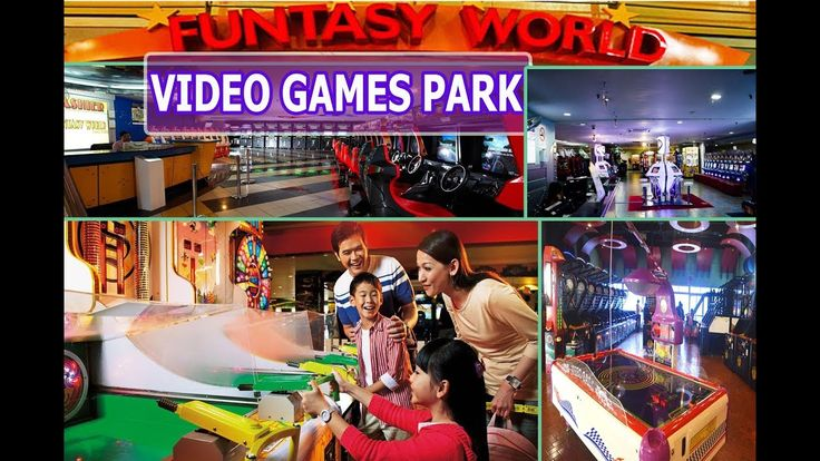 Vision City Video Games Park Malaysia | Funtasy World Video Games Park G...