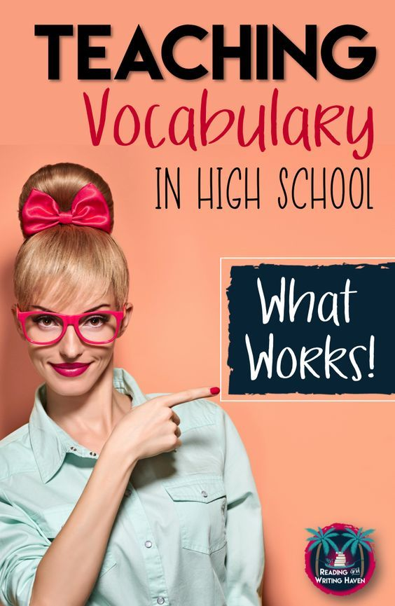 Need fresh ideas for vocabulary instruction in high school? Teaching vocabulary can be engaging through differentiation and best-practice approaches. Teach students to retain words, not just to memorize them.