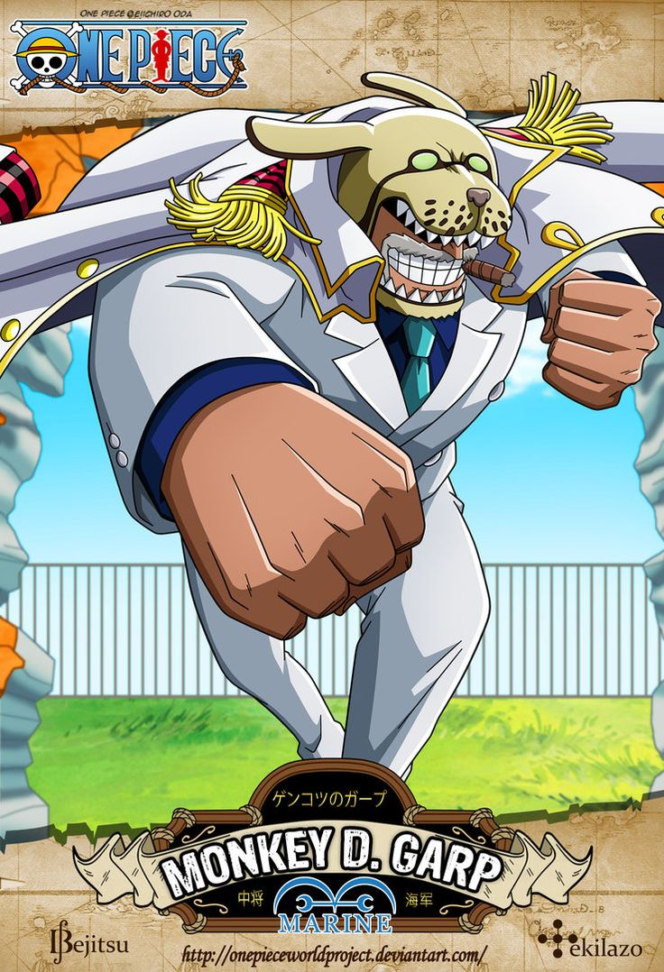 One Piece - Monkey D. Garp by OnePieceWorldProject