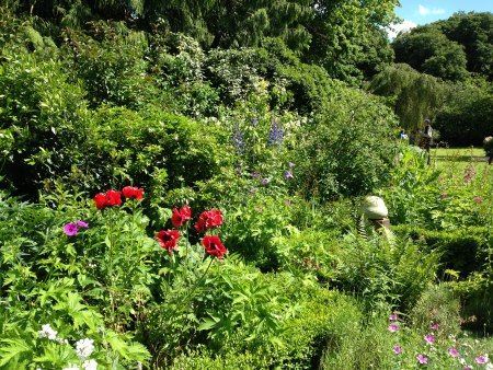 Abundant plantings at Asthall Manor