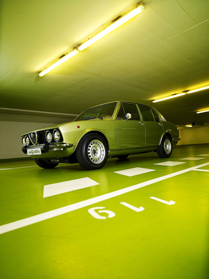 Alfetta... I dream with a car like this