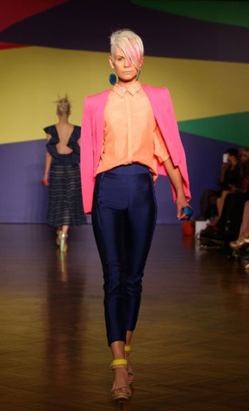 MBFWA 2012 trends: bold colours by Ginger & Smart