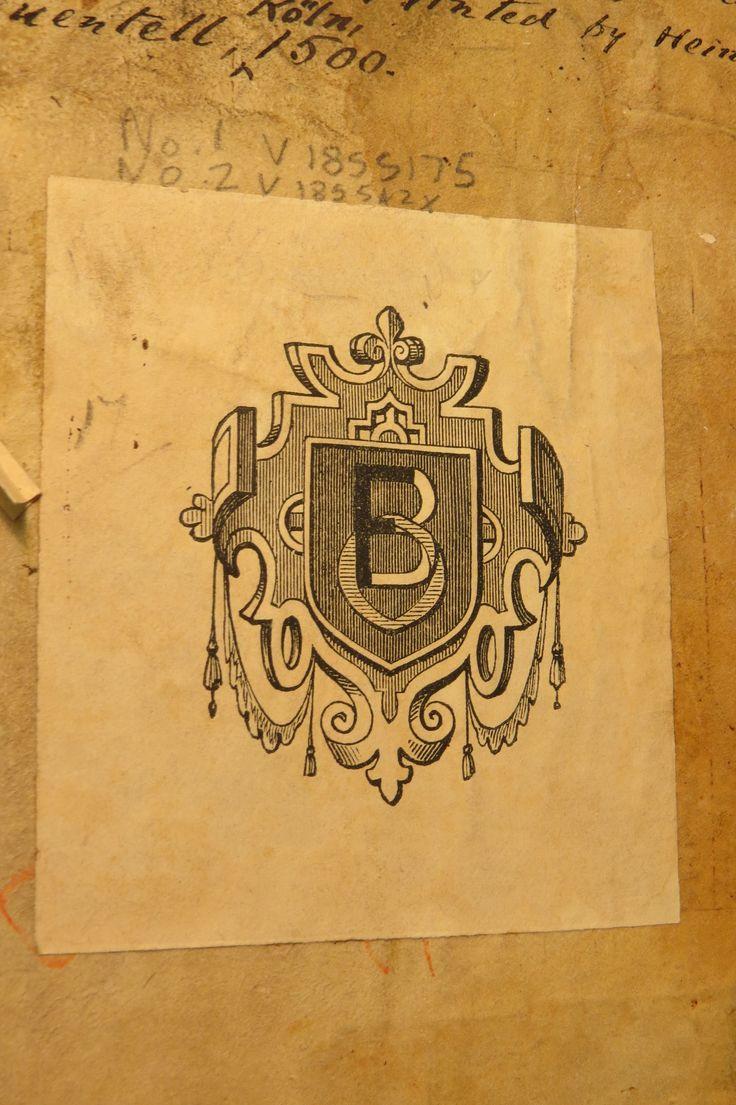 Inc 2. Author: Alexander, de Villa Dei . Title: Grammatica Latina Alexandri. 1497: 1500. Bookplate B.O. monogram on front pastedown.